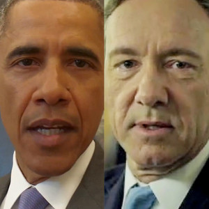 President Barack Obama, Kevin Spacey, House of Cards