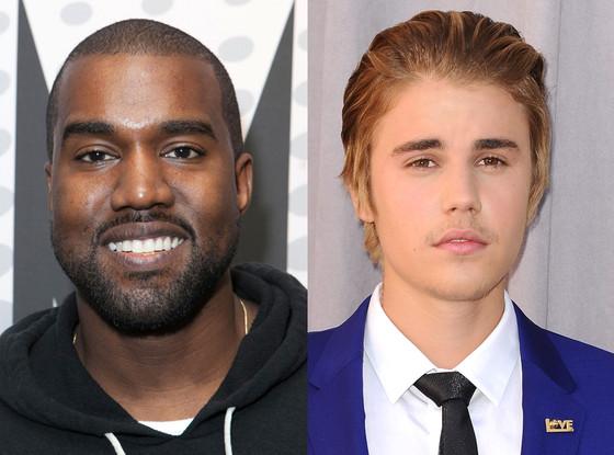 Justin Bieber, Kanye West