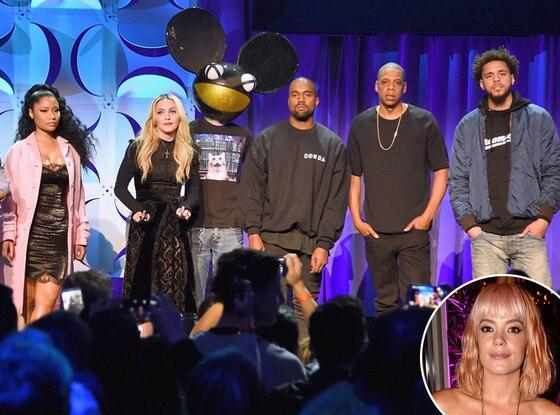 Lily Allen, Jay Z, Tidal Launch