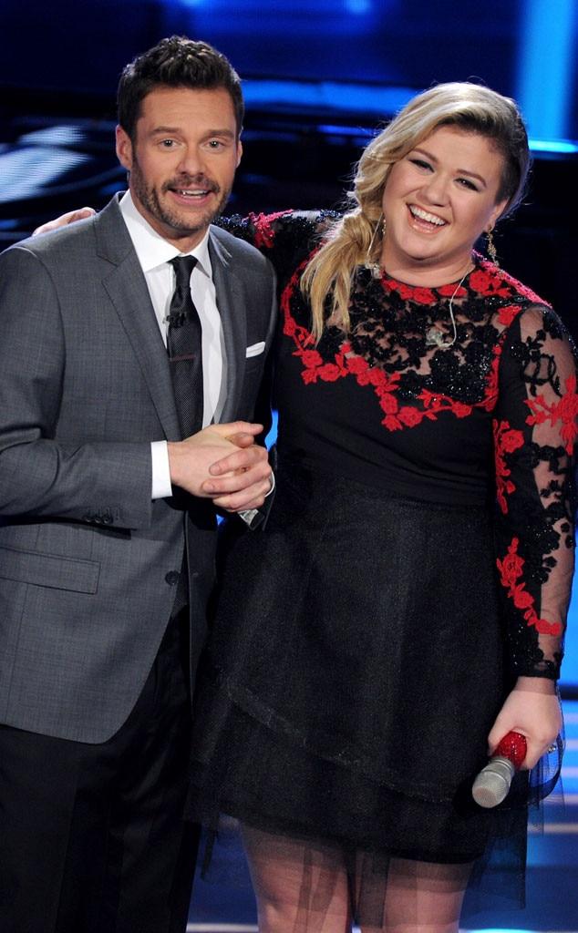 Ryan Seacrest, Kelly Clarkson