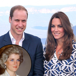 Prince William, Duchess Catherine Kate Middleton, Princess Diana