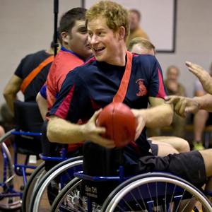 Prince Harry, Wheelchair Football