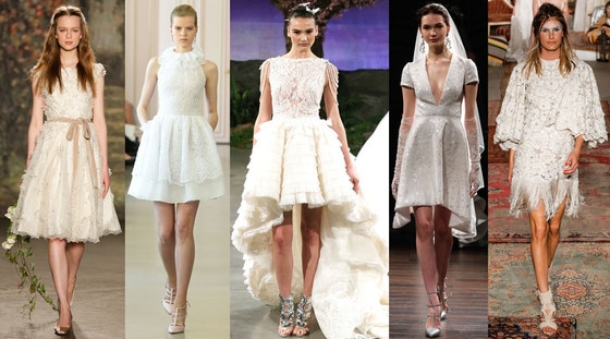 Short Wedding Dresses, 2016 Spring Bridal