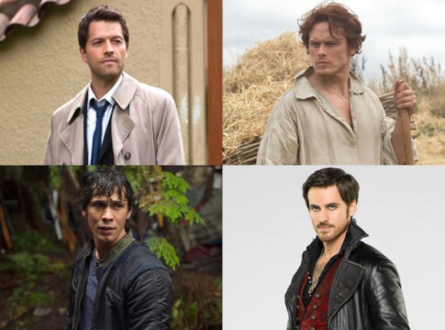 Misha Collins, Supernatural, Sam Heughan, Outlander, Bob Morley, The 100, Colin O'Donoghue, Once Upon a Time,