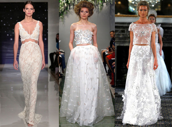 Two Piece Wedding Dresses, 2016 Spring Bridal