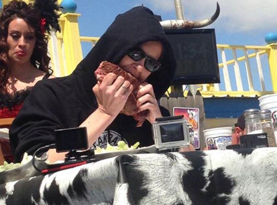 Molly Schuyler, Steak Eating Contest