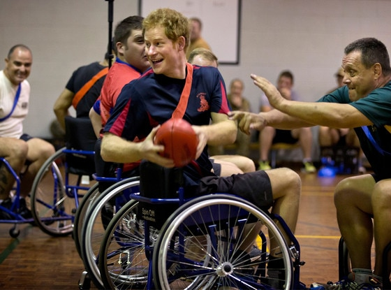Prince Harry, Wheelchair Football