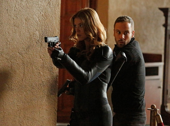 Adrianne Palicki, Nick Blood, Agents of SHIELD