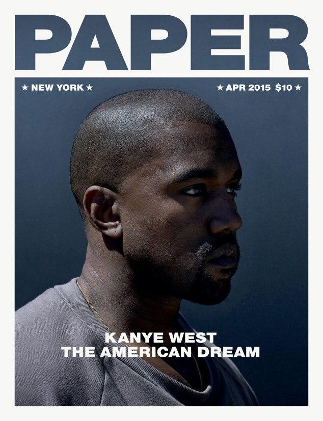 Kanye West, Paper Magazine
