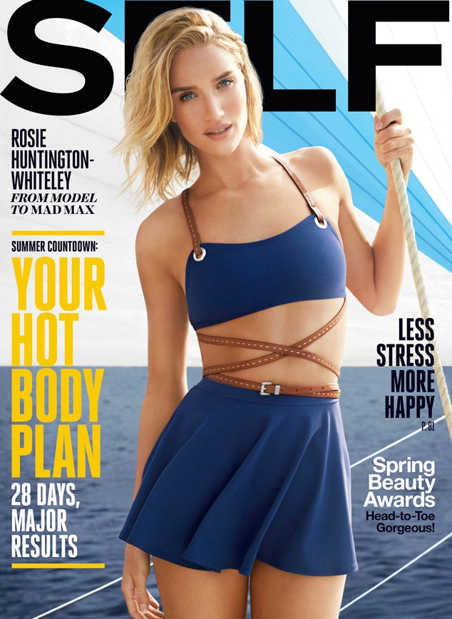 Rosie Huntington-Whiteley, Self Magazine
