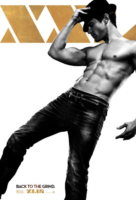 matt bomer shares his shirtless magic mike xxl poster see his 8 pack abs e news. Black Bedroom Furniture Sets. Home Design Ideas