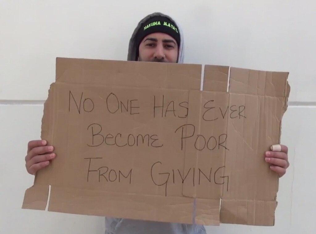 Homeless Social Experiment, YouTube