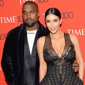 Kim Kardashian West, Kanye West, TIME 100 Gala