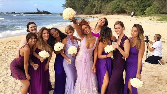 Rihanna, 420 Bridesmaid
