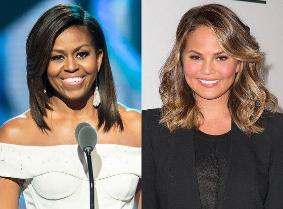 Michelle Obama, Chrissy Teigen