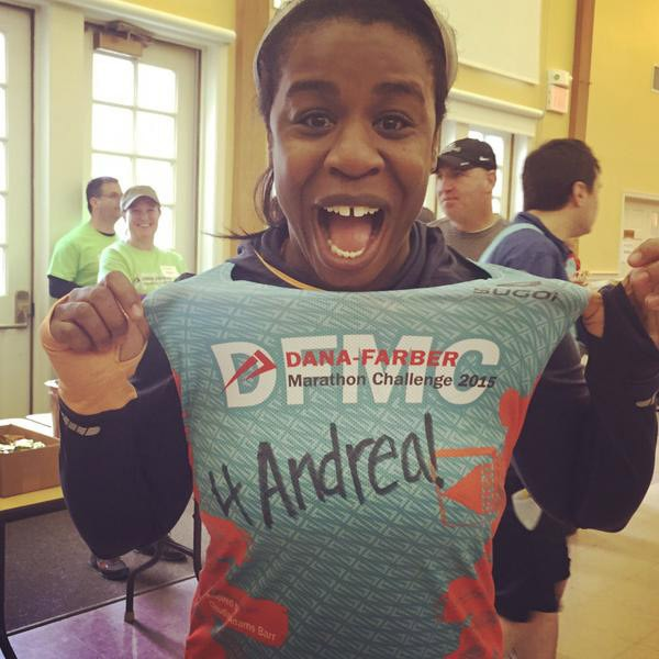 Uzo Aduba, Boston Marathon 2015
