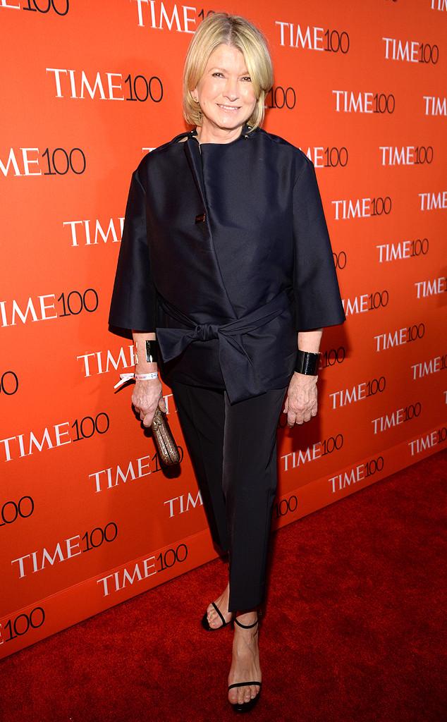 Martha Stewart, TIME 100 Gala
