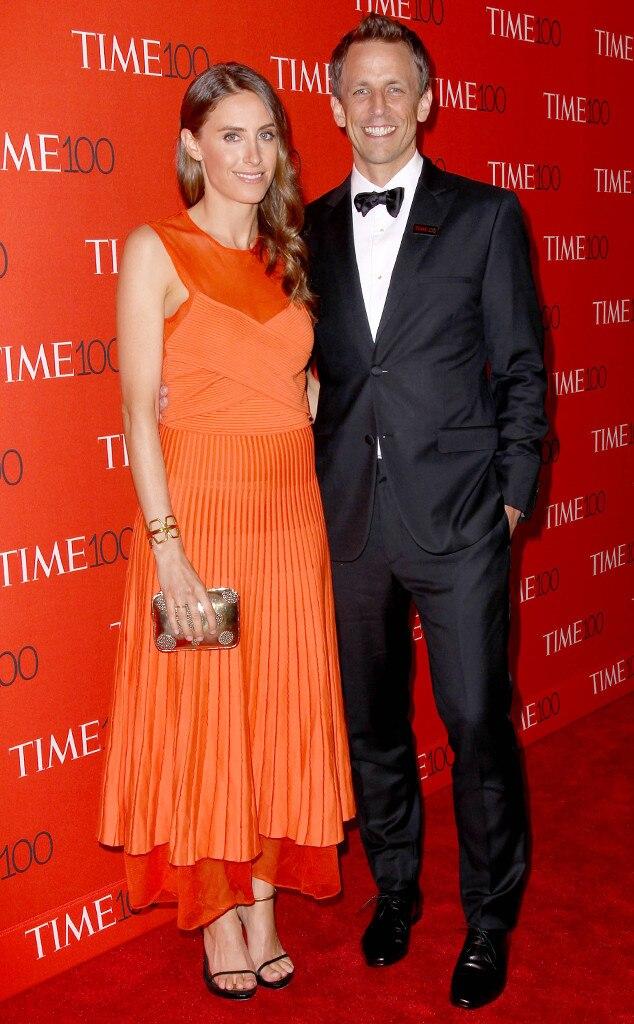 Seth Meyers, Alexi Ashe, TIME 100 Gala