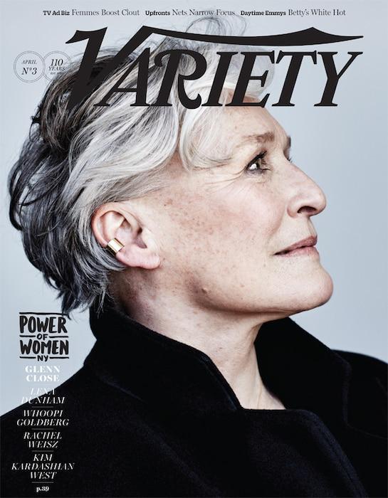Glenn Close, Variety Magazine