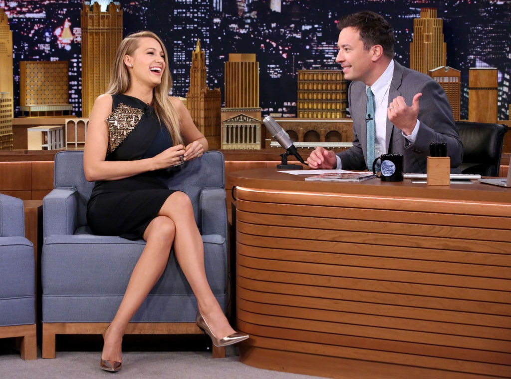 Blake Lively, Tonight Show, Jimmy Fallon