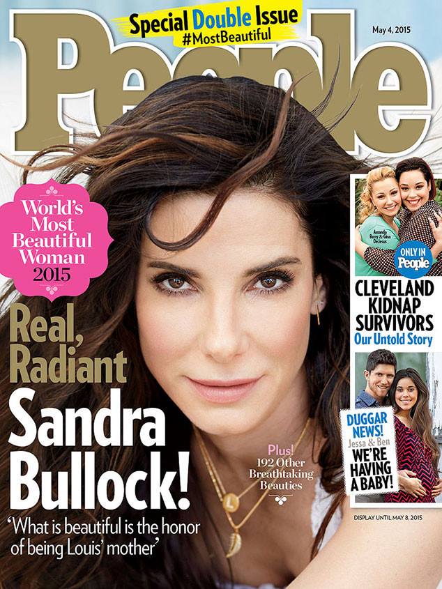 Sandra Bullock, People Magazine's Most Beautiful Women, 2015