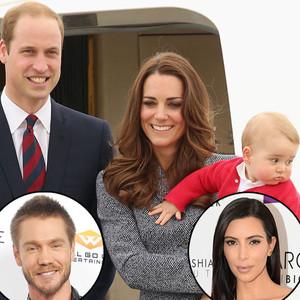 Prince William, Kate Middleton, Prince George, Royal Baby Name