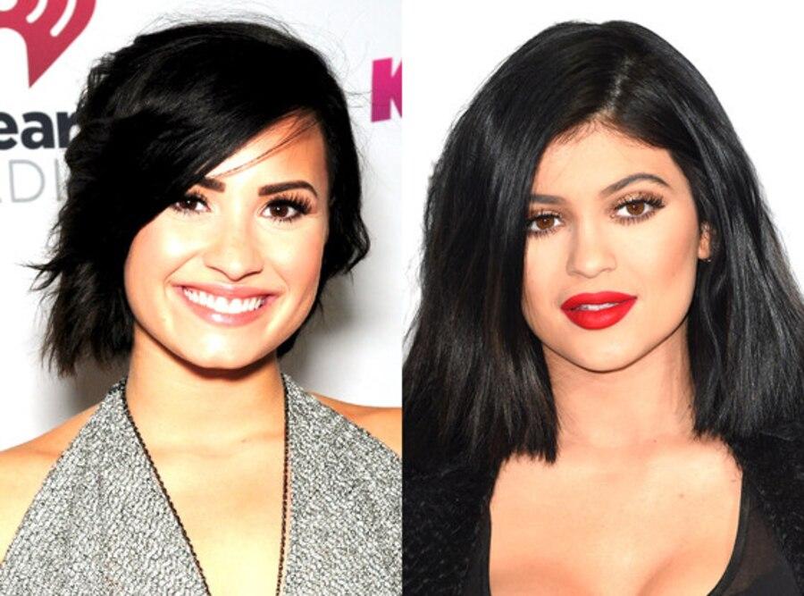 Demi Lovato, Kylie Jenner