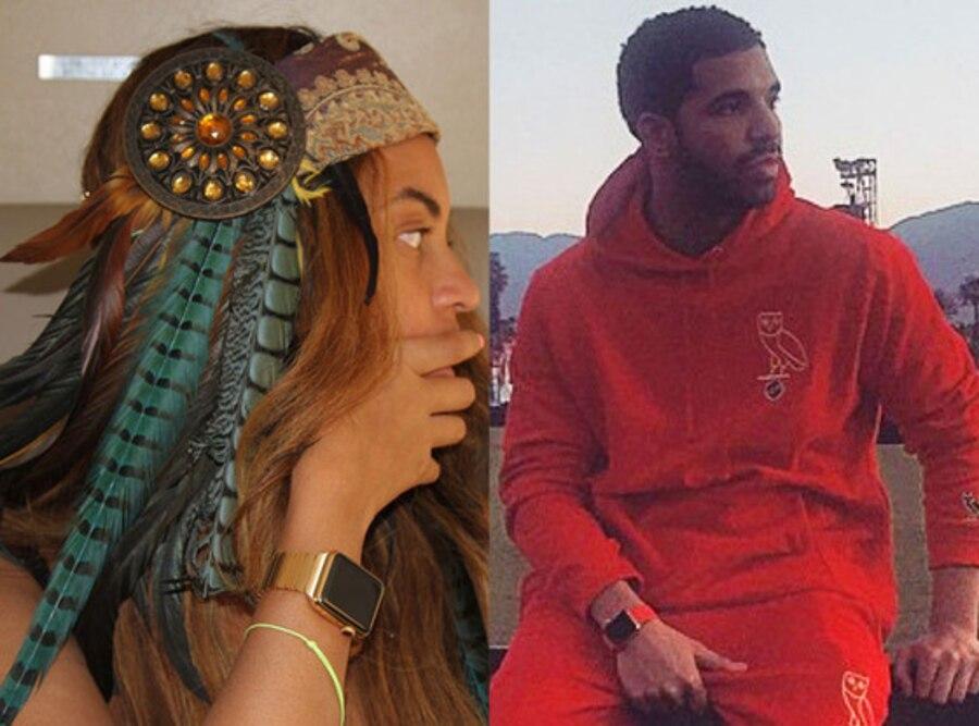 Beyonce, Drake, Coachella, Instagram, Apple Watch