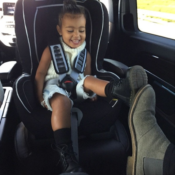 North West, Kanye West, Instagram