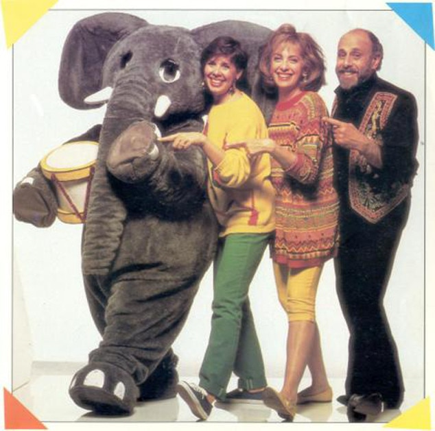 Lois Lilienstein, Bram Morrison, Sharon Hampson, The Elephant Show