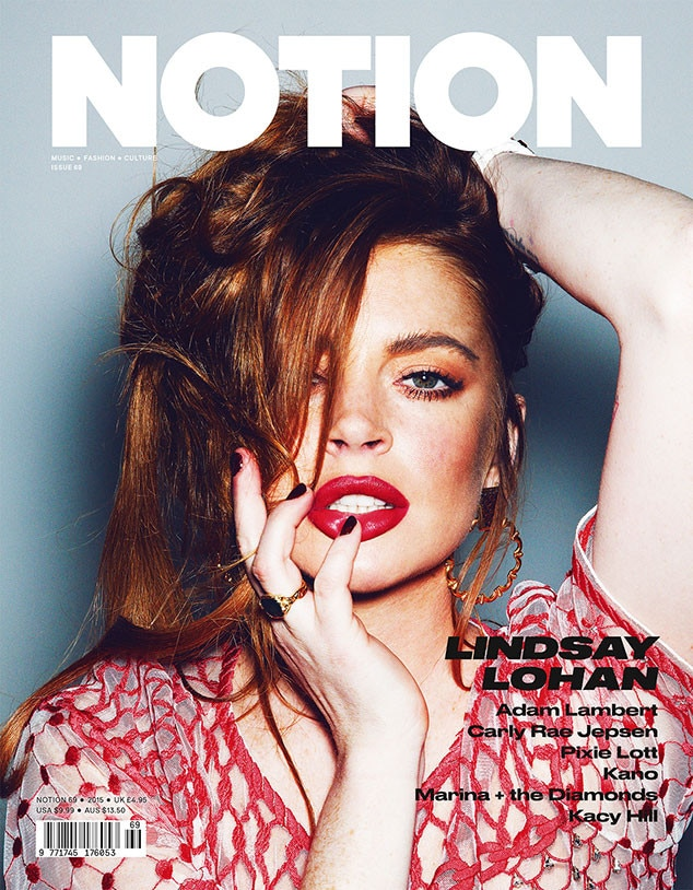 Lindsay Lohan, Notion Magazine