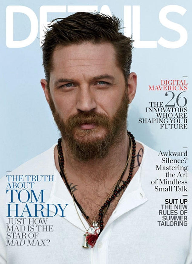 Tom Hardy, Details Magazine