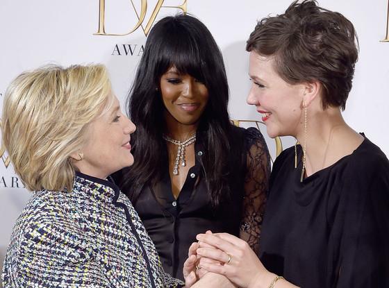 Hillary Clinton, Naomi Campbell, Maggie Gyllenhaal