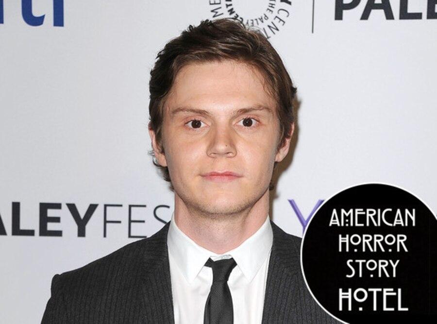 Evan Peters, AHS Hotel