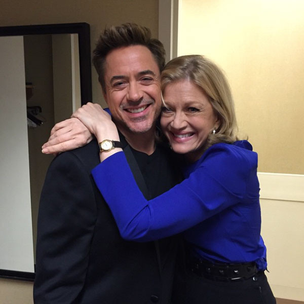 Robert Downey Jr., Diane Sawyer