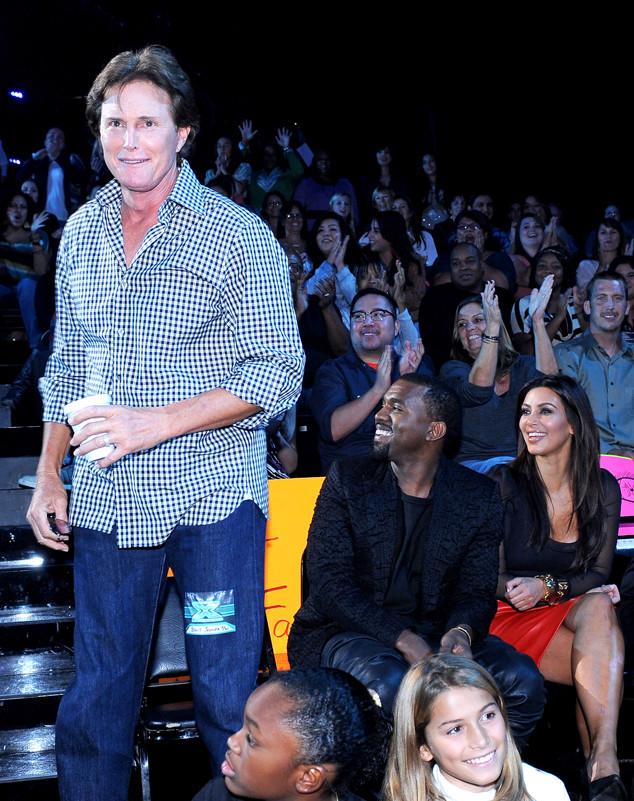 Kim Kardashian, Bruce Jenner, Kanye West