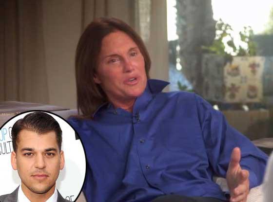 Bruce Jenner, Rob Kardashian