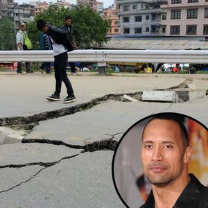 Nepal Earthquake, Dwayne Johnson