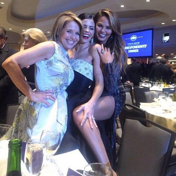Jenna Dewan Tatum, Chrissy Teigen, Katie Couric