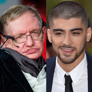 Stephen Hawking, Zayn Malik