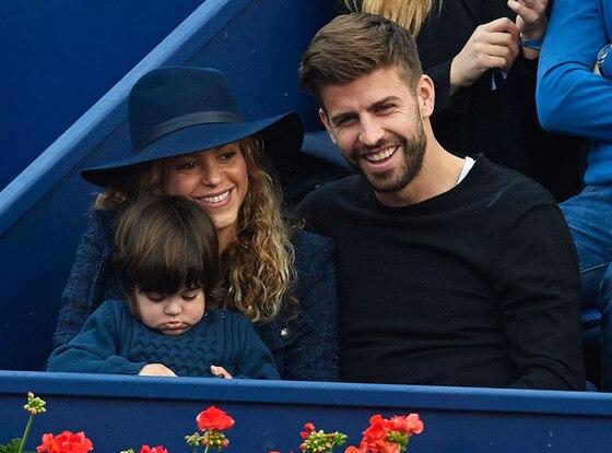 Shakira, Gerard Pique, Milan Pique