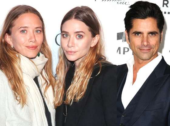 Mary-Kate Olsen, Ashley Olsen, John Stamos