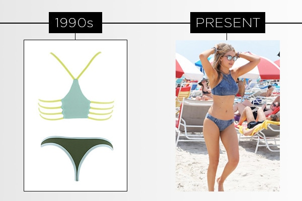 ESC, History of the Swim Suit