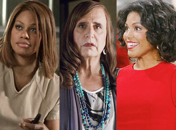 Laverne Cox, Orange is the New Black, Jeffrey Tambor, Transparent, Karla Mosley, The Bold and the Beautiful