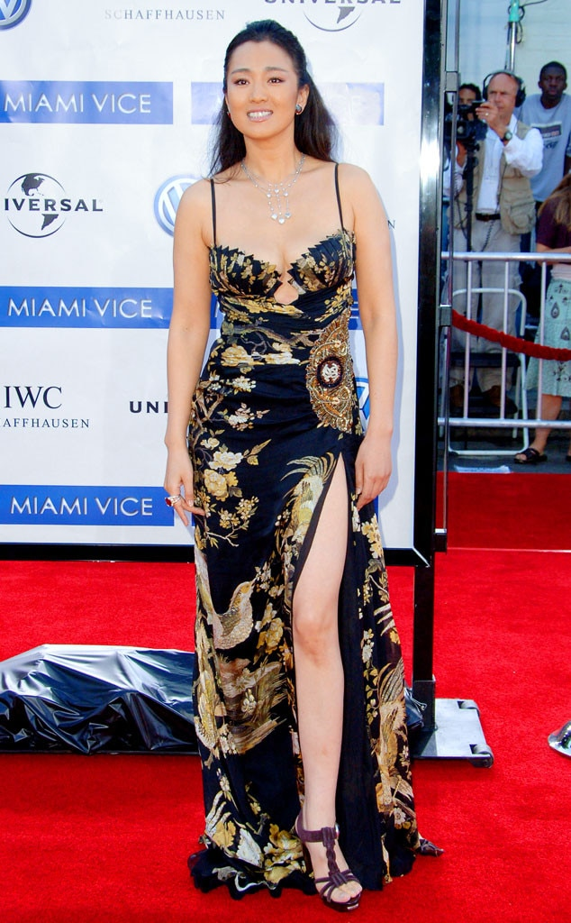 well patterned from gong li s best looks e news