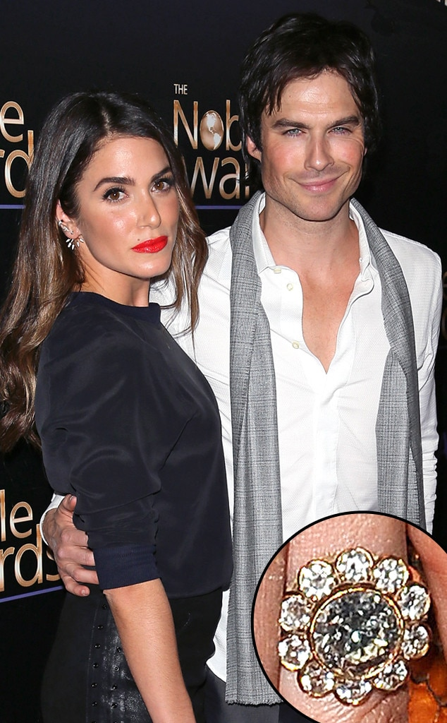 Nikki Reed, Ian Somerhalder, Ring