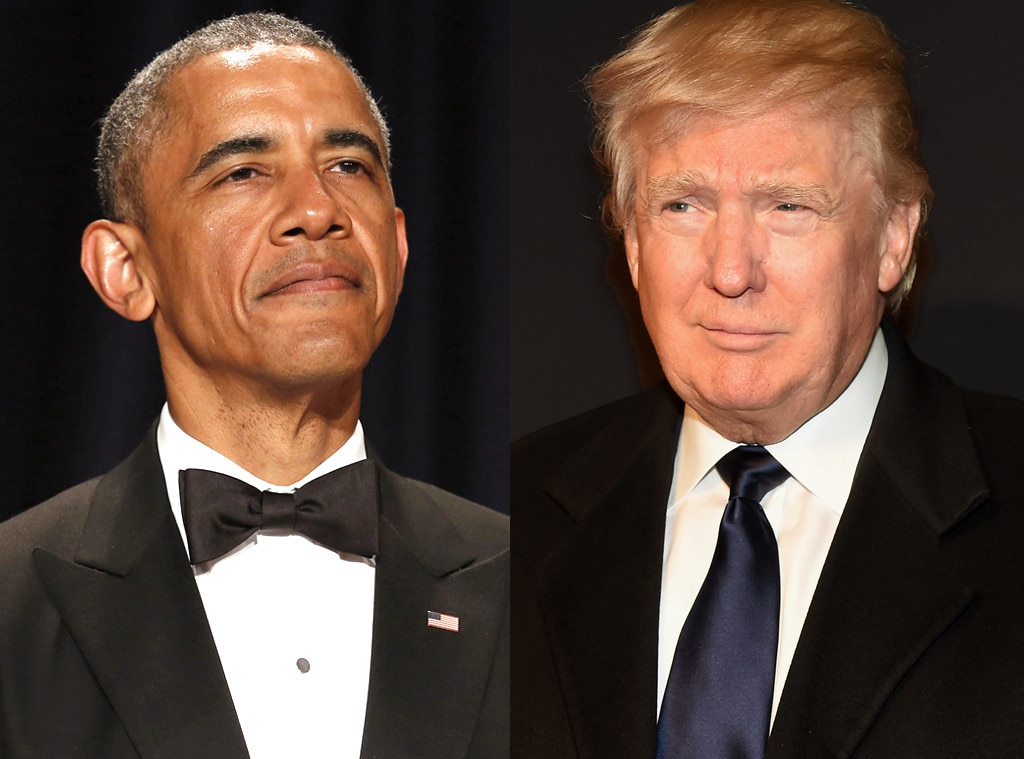 Resultado de imagen para Trump y obama