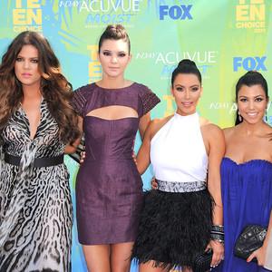 Khloe Kardashian, Kendall Jenner, Kim Kardashian, Kourtney Kardashian