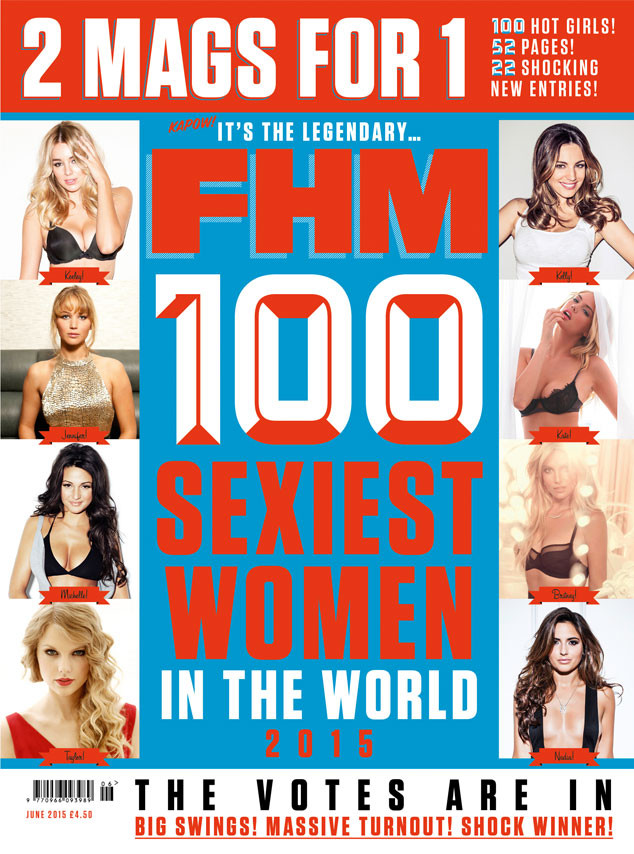 Sexiest Woman Magazine Cover