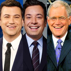 Stephen Colbert, Jimmy Fallon, Jimmy Kimmel, David Letterman